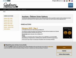 gadoury.bidinside.com screenshot