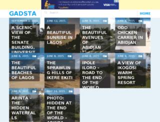 gadsta.com screenshot