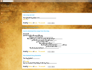 gadwalisongs.blogspot.com screenshot