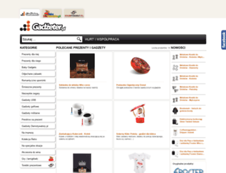 gadzeter.pl screenshot