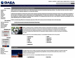gaea.ca screenshot
