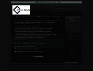 gaeb-excel-konverter.de screenshot