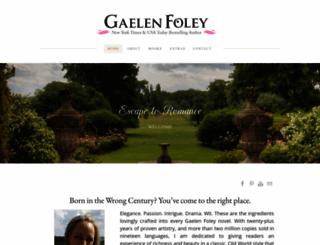 gaelenfoley.com screenshot