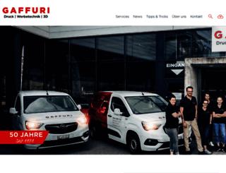 gaffuri.ch screenshot