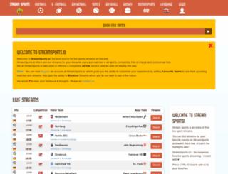 gaga.streamsports.io screenshot