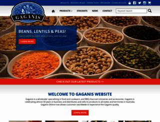 gaganisbros.com.au screenshot