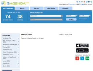gagenda.com screenshot