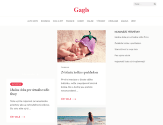 gagls.sk screenshot