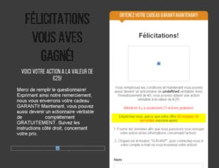 gagner-aujourdhui.com screenshot