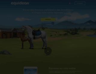 gaia.equideow.com screenshot