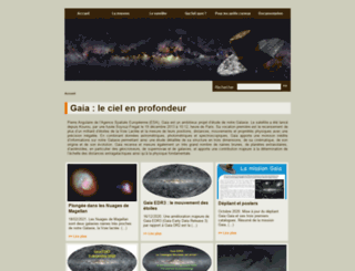 gaia.obspm.fr screenshot