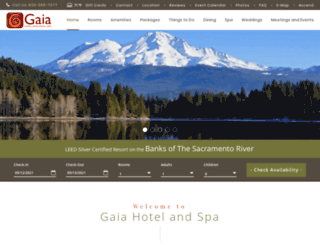 gaiahotelspa.com screenshot