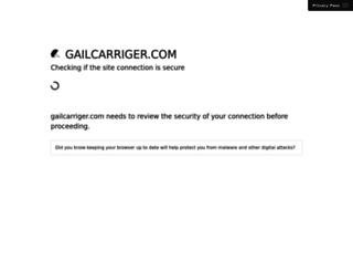 gailcarriger.com screenshot