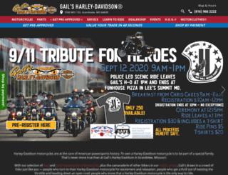 gailsharleydavidson.com screenshot