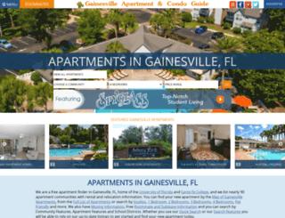 Gainesville apartment and condominium guide by gainesville.