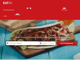 gainesville.eat24hours.com screenshot