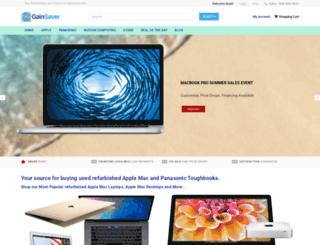 gainsaver.com screenshot