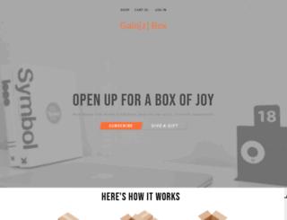 gainzbox.cratejoy.com screenshot