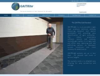 gaitrite.com screenshot
