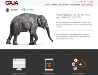 gajadigital.com screenshot