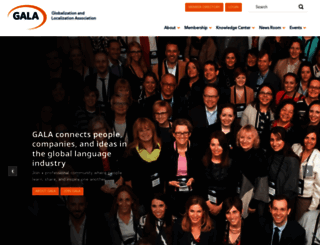gala-global.org screenshot