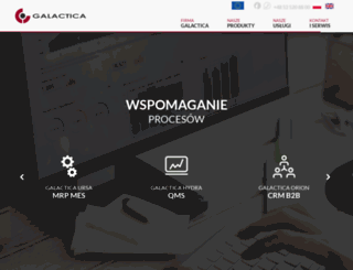 galactica.pl screenshot