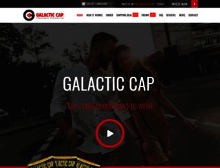 galacticcap.com screenshot