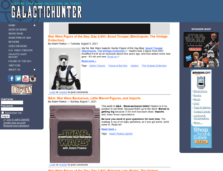galactichunter.com screenshot