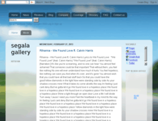 galagallery.blogspot.com screenshot