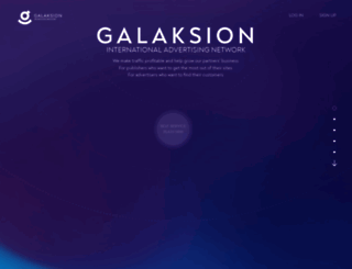 galaksion.com screenshot
