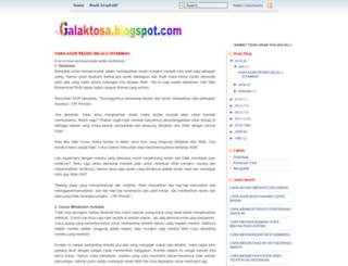 galaktosa.blogspot.com screenshot