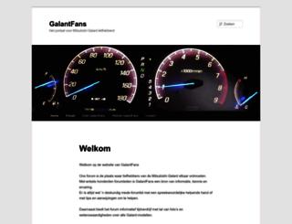 galant-fans.nl screenshot