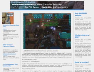 galaxiesreborn.com screenshot