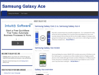 galaxyace.org screenshot