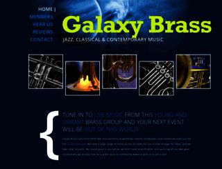 galaxybrass.com.au screenshot