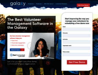 Access galaxydigital com  Best Volunteer Management Software