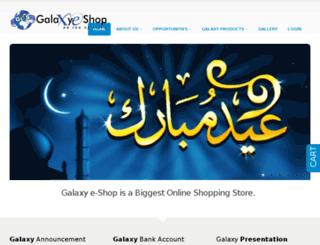 galaxye-shop.com screenshot