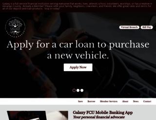 galaxyfcu.com screenshot