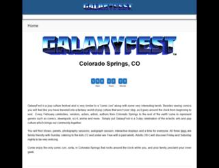 galaxyfest.org screenshot