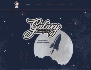 galaxyinformatics.com screenshot