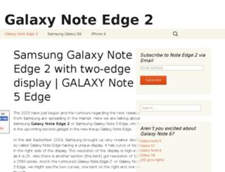 galaxynotedge2.com screenshot