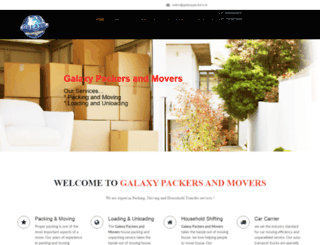 galaxypackers.in screenshot