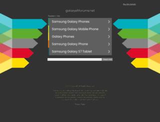 galaxys5forums.net screenshot