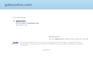 galaxystwo.com screenshot