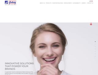 galaxysurfactants.com screenshot