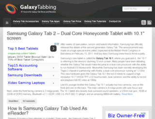 galaxytabbing.com screenshot