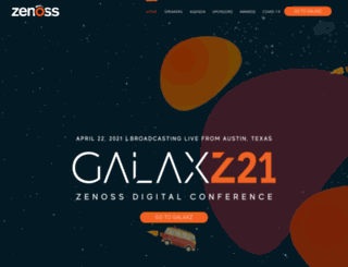 galaxz.zenoss.com screenshot