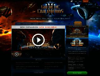 galciv3.com screenshot