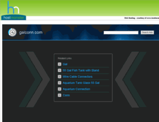 galconn.com screenshot