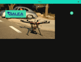 galea-drone.com screenshot